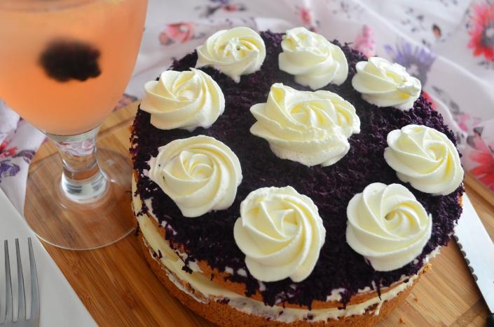 Filipino Ube Chiffon Cake recipe
