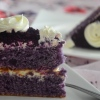 Ube Chiffon Cake Small Batch