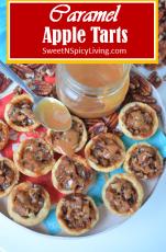 Caramel Apple Tarts