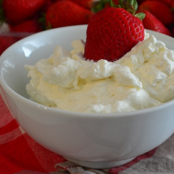 Perfect whipped cream