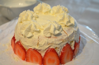 Decorate top with whipped cream