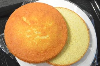 Boston Cream Cake