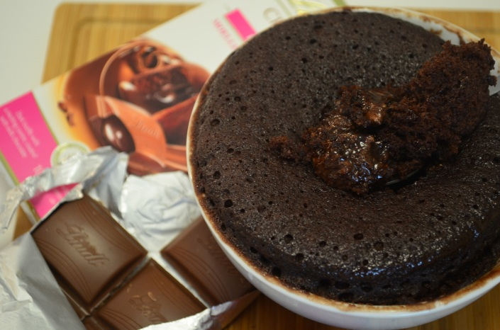 Molten Lava Chocolate Mug Cake Small Batch Recipe