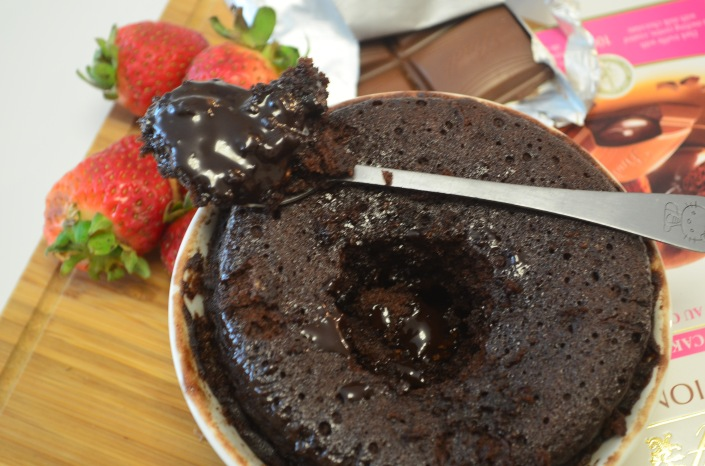 Small Batch Molten Lava Cake