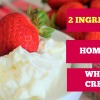 How To Make Homemade WhippedCream