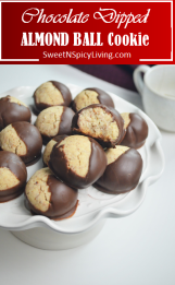 Almond Ball Cookie