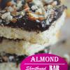 Almond Shortbread Bar2Blog