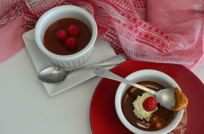 Bake-Ahead Caramel Custard