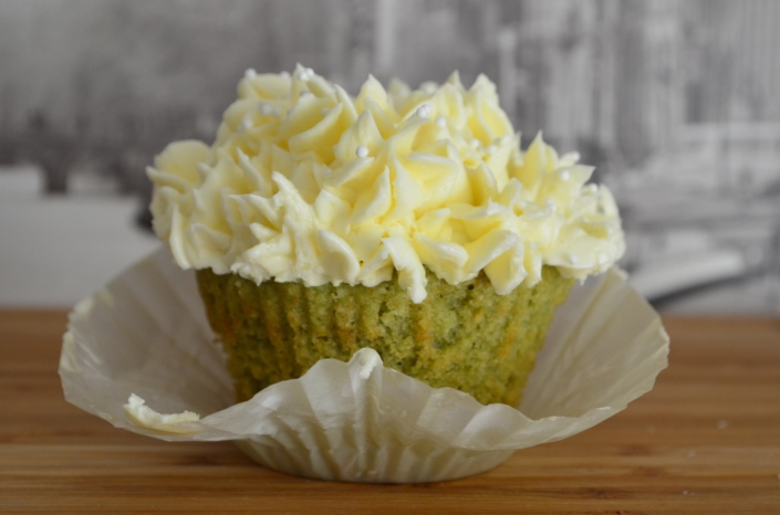 Green tea Cupcakes Recipe (Small Batch)