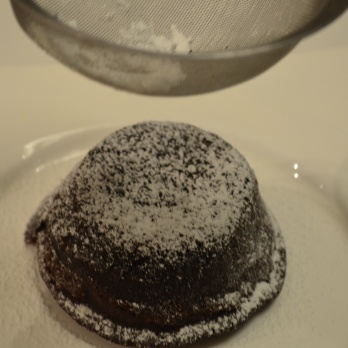 Dust with icing sugar