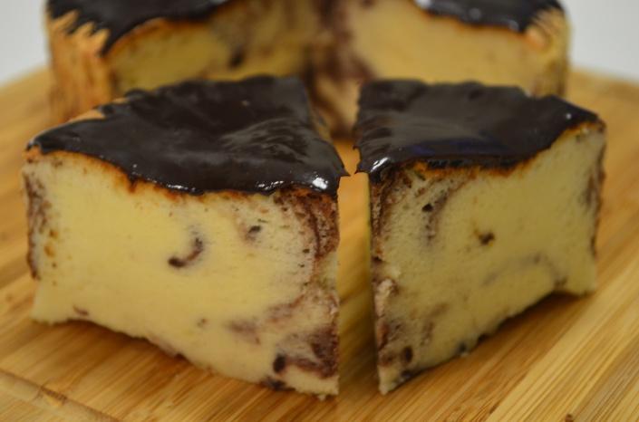 Marble Ogura Cake Recipe