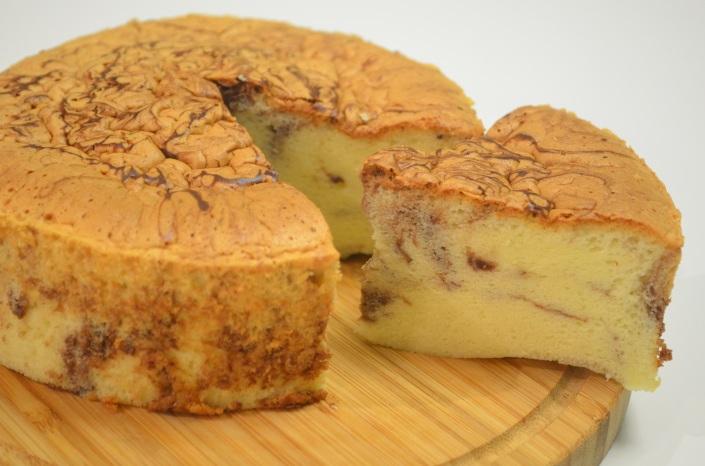 Marble Ogura Cake (Small Batch)