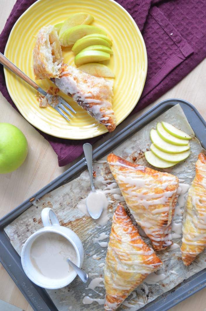 Small Batch Apple Turnover