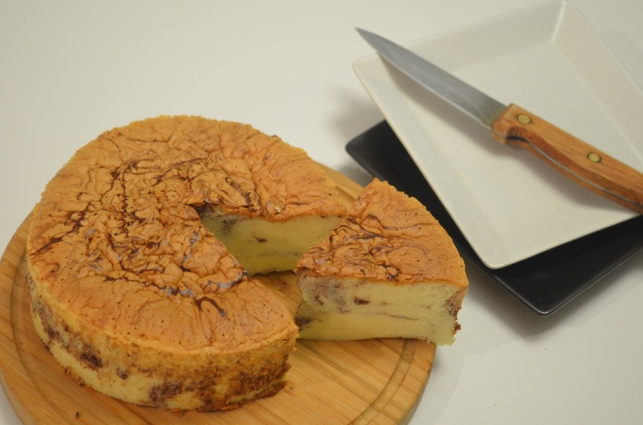 Small Batch Marble Ogura Cake