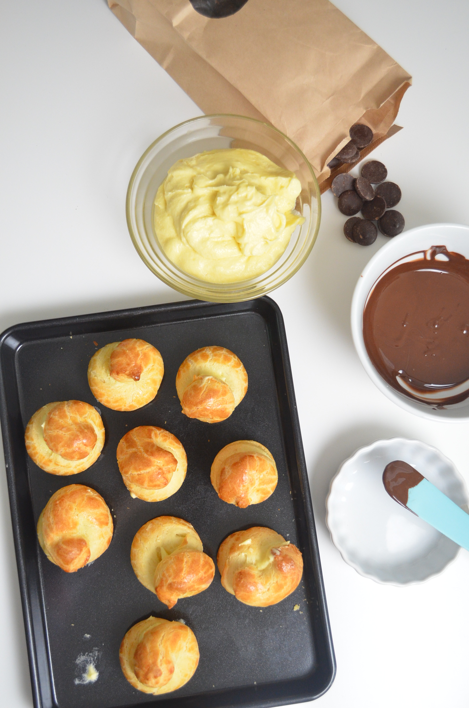 Small Batch Profiteroles By SweetNSpicyLiving