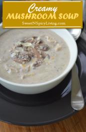 Creamy Mushroom Soup 2
