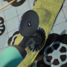 Run pasta wheel cutter along the sides