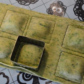 Homemade Spinach Ravioli