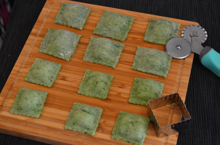 Homemade Spinach Ravioli (Small Batch)