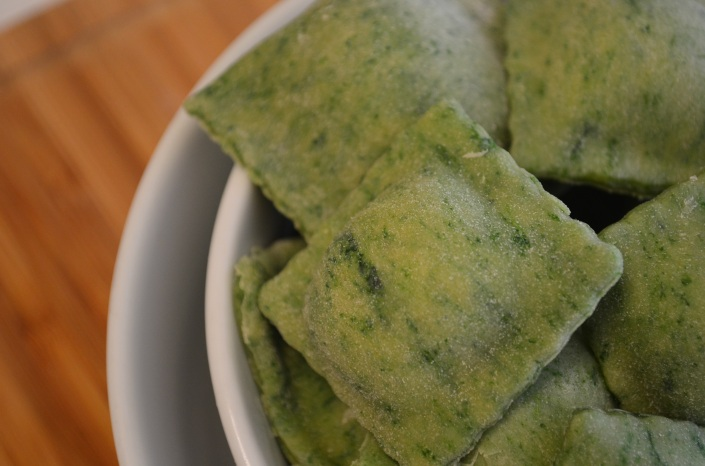 How to make Homemade Spinach Ravioli