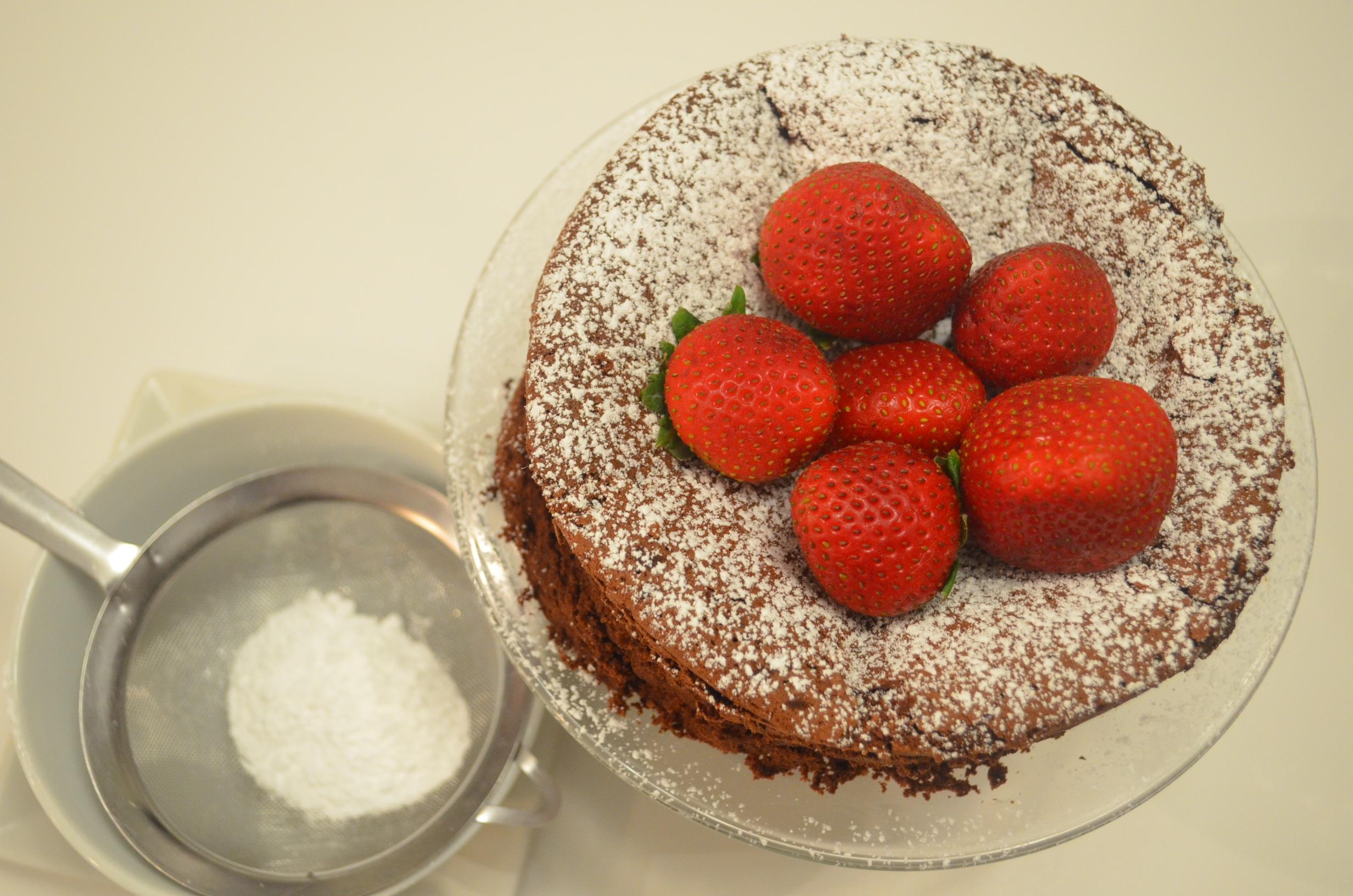 Chocolate cake recipe 4 ingredients