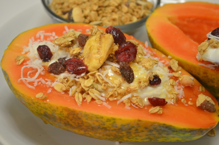 Yogurt & Fruits Breakfast Bowl Recipe