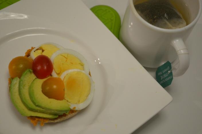 Avocado, Egg & Hummus Toast