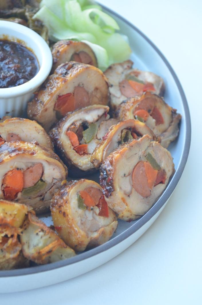 Easy Stuffed Chicken Roll-Up
