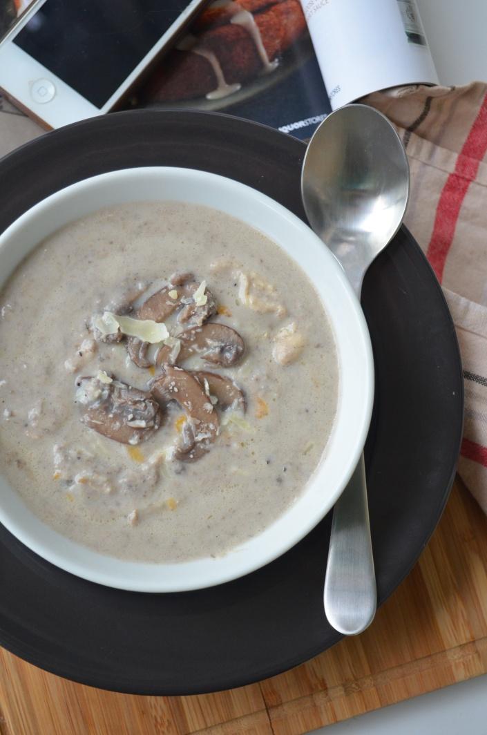 Small Batch Mushroom Soup