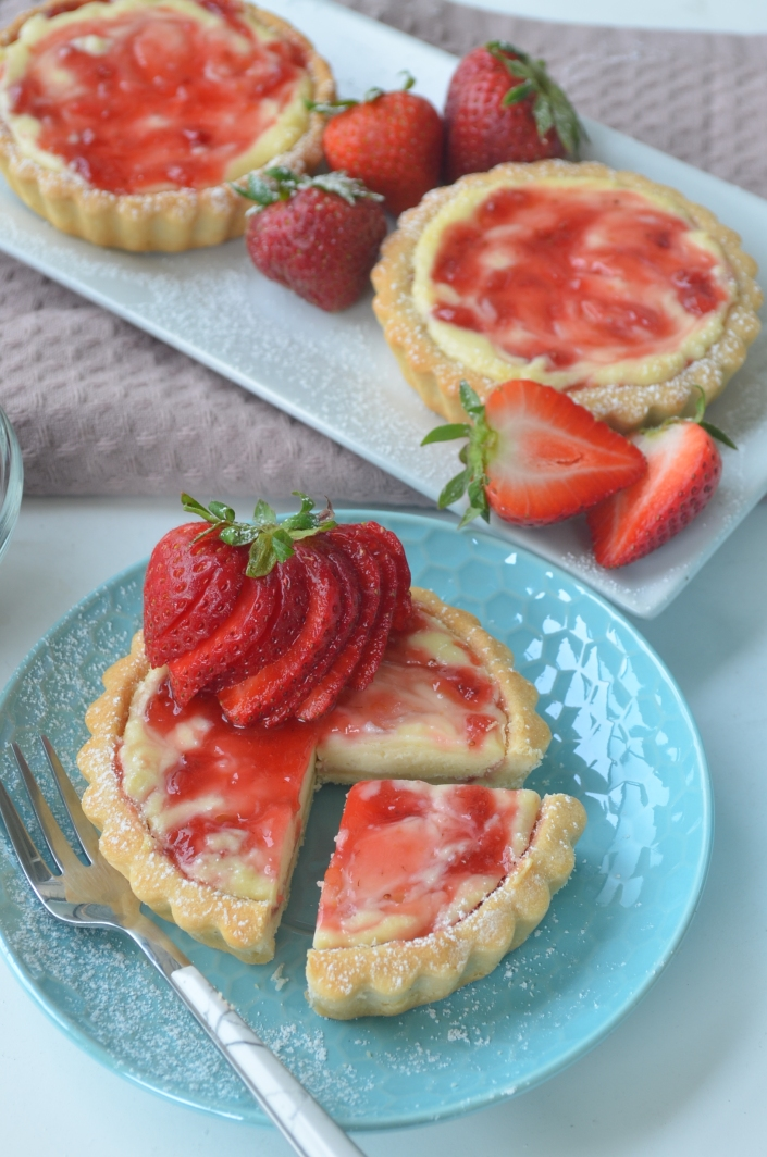 Small Batch Strawberry Tart