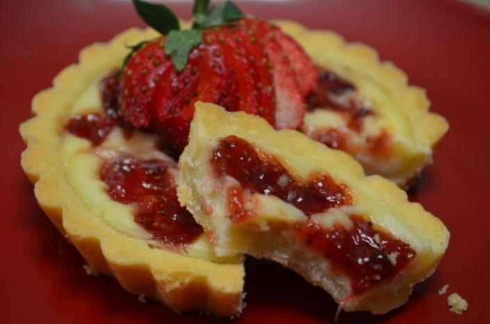 Strawberry Cheese Tart Recipe