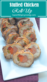 Stuffed Chicken Roll-Up