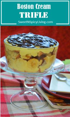 Boston Cream Trifle