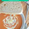 Creamy Tomato Basil ParmesanSoup