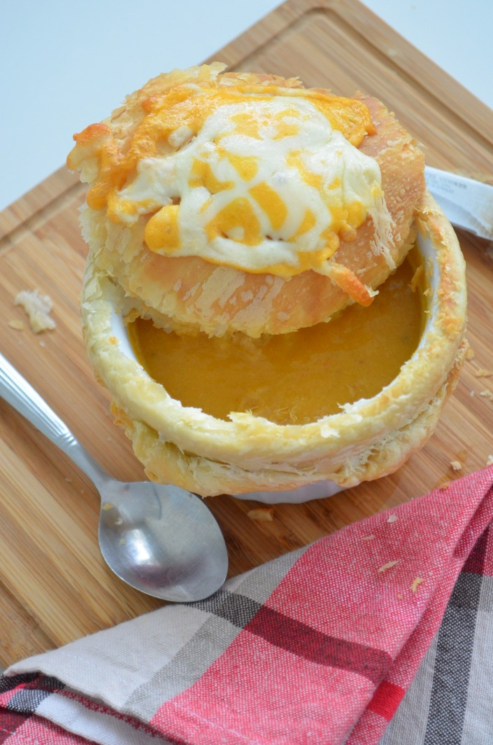 Baked Butternut Squash Soup