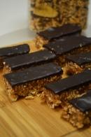 Homemade Dates and Nuts Granola Chocolate Bar