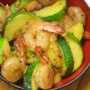 One Pan Spicy Garlic Shrimp withZucchini