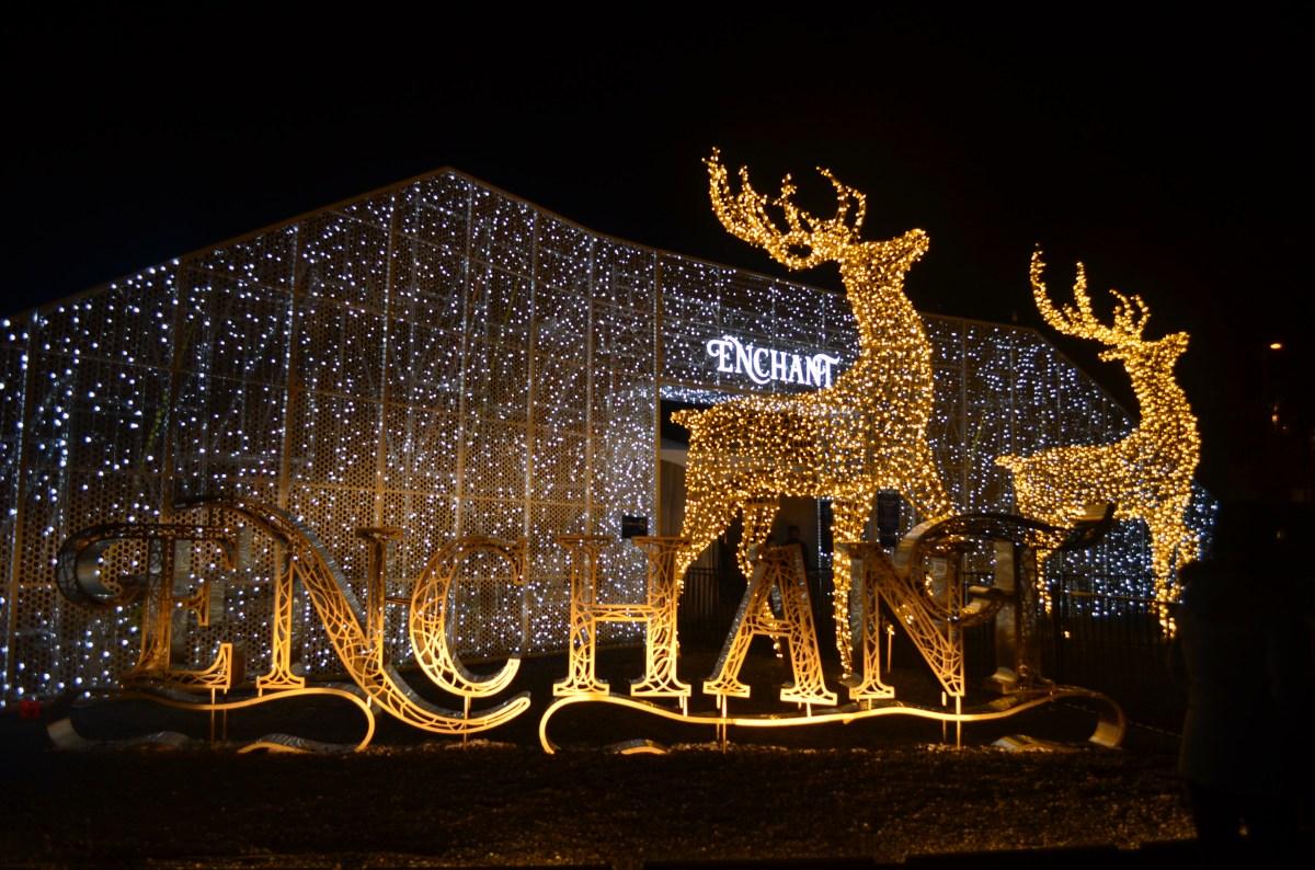 enchant christmas lights maze and market sweet spicy living - Deer Christmas Lights