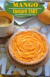Mango Custard Tart 1