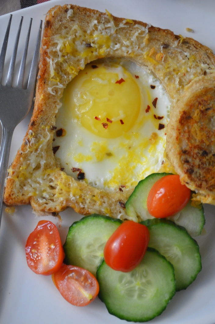 Egg in a Hole by SweetnSpicyLiving.com
