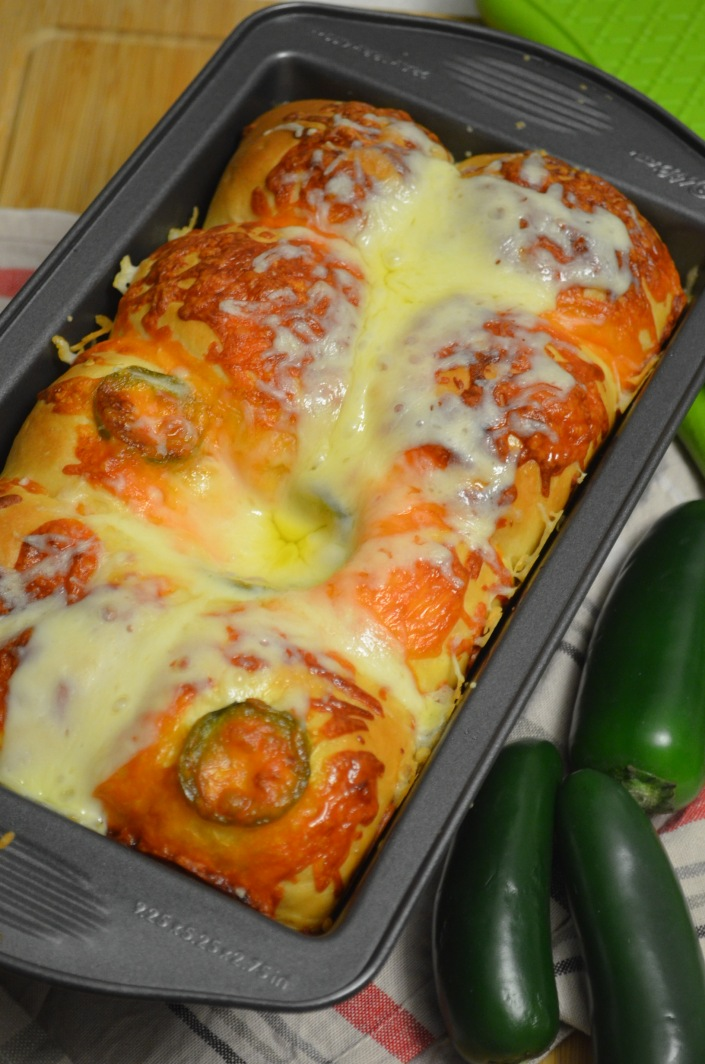 Jalapeno Cheese Pull-Apart Bread