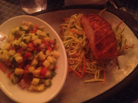 Uncle Julio Mexican Restaurant : Grilled Salmon