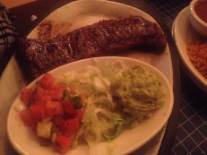 Uncle Julio Mexican Restaurant : Steak