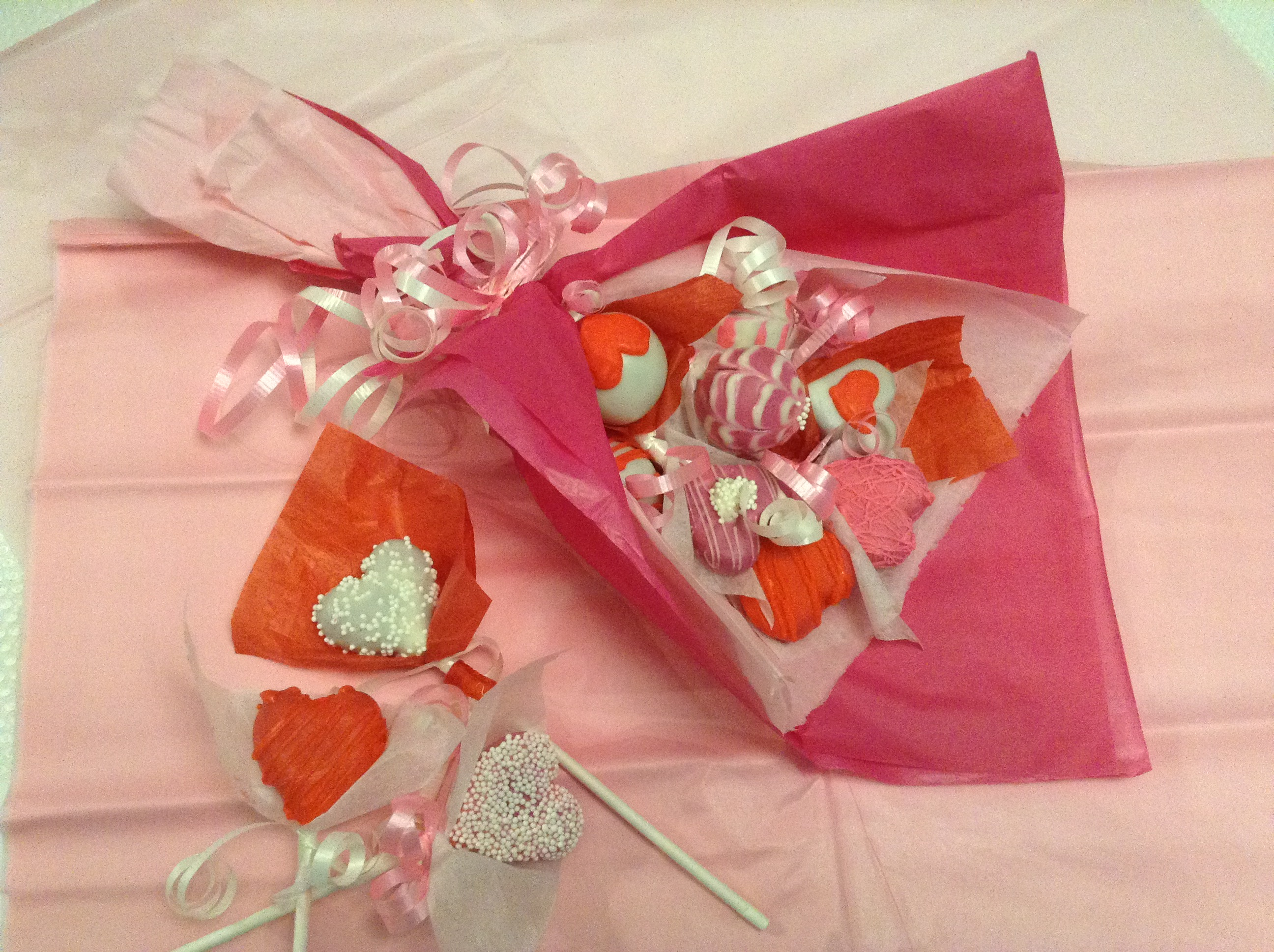 How to make Valentine Cake Pops