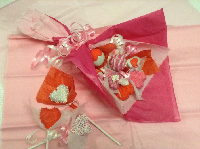 How to make Valentine Cake Pops