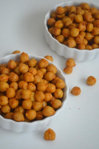 Toasted Spiced Chickpeas
