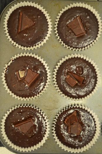 Top with chocolate chunks