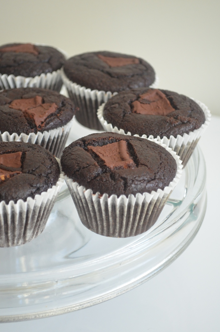 Black Beans Flourless Chocolate Cupcakes Recipe