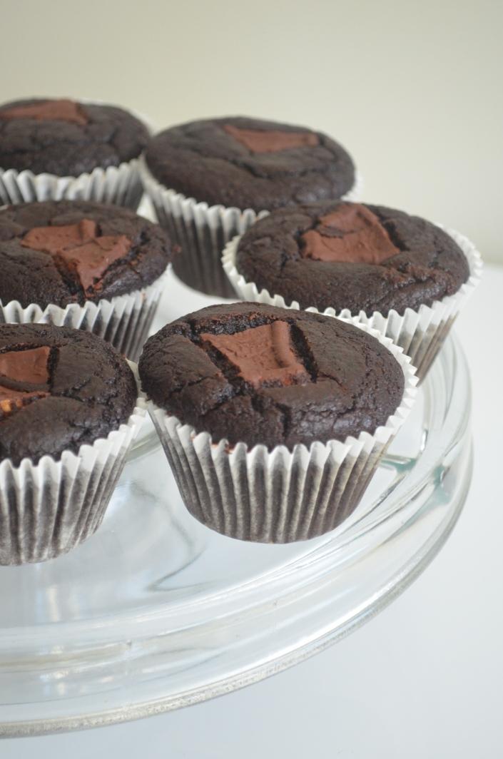 Black Beans Flourless Chocolate Cupcakes Recipe