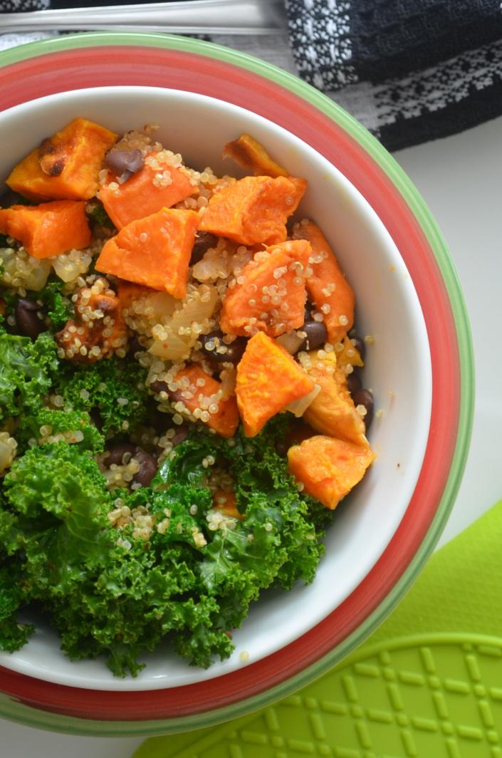 Sweet Potato and Quinoa Bowl (Small Batch)